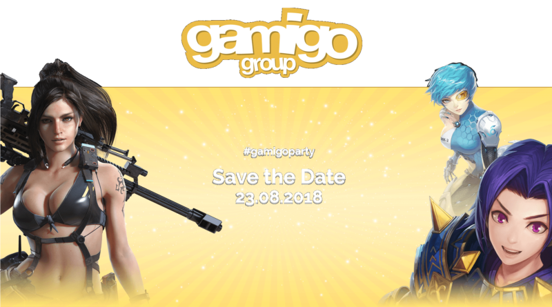 gamigoparty @ gamescom 2018