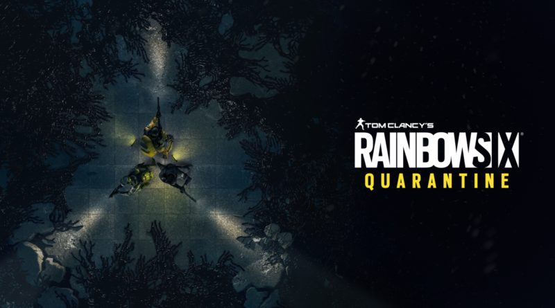 Rainbox Six Quarantine E3 Cover
