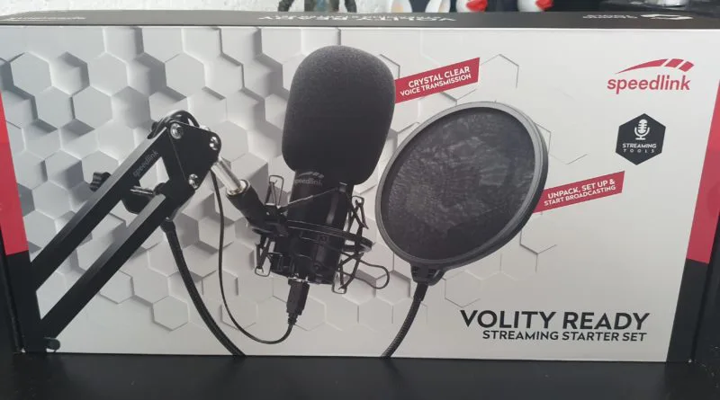 Speedlink – Volity Ready Streaming Starter Set