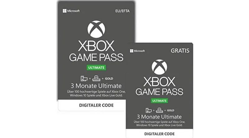xbox game pass free months