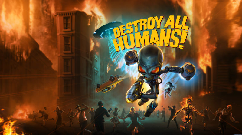 Destroy All Humans - Poster
