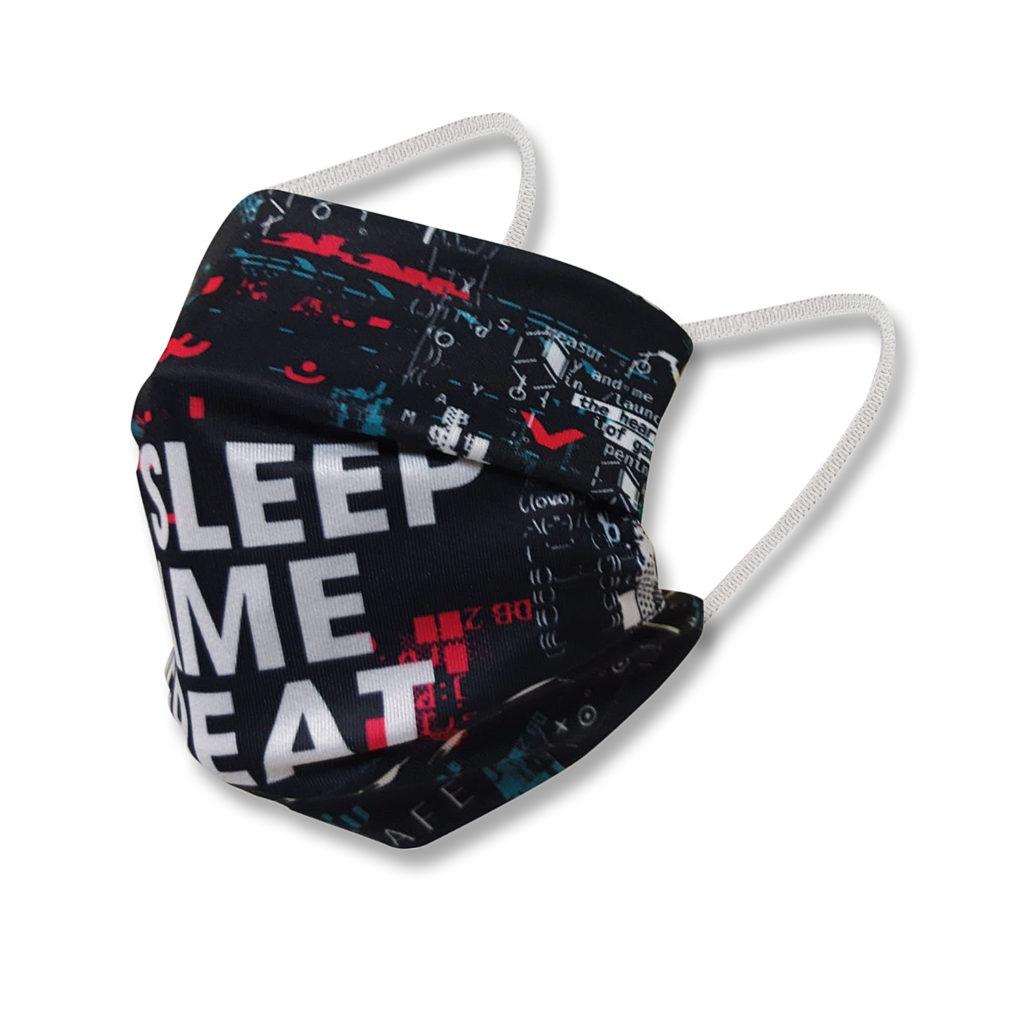 Gamescom 2020 Maske sleep
