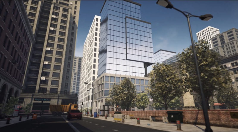 Modern City Downtown Paket