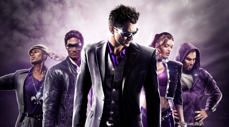 Saints Row: The Third - Remastered Cover with Angel - THQ Nordic