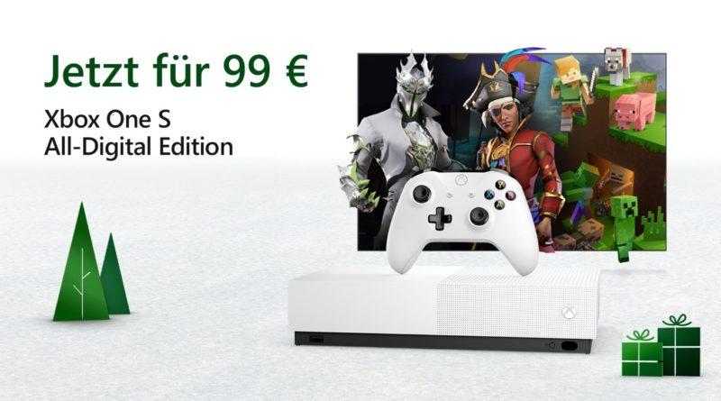 Xbox One S - All Digital - BlackFriday