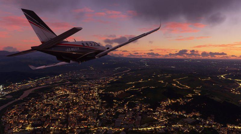Flight Simulator - Night Flight