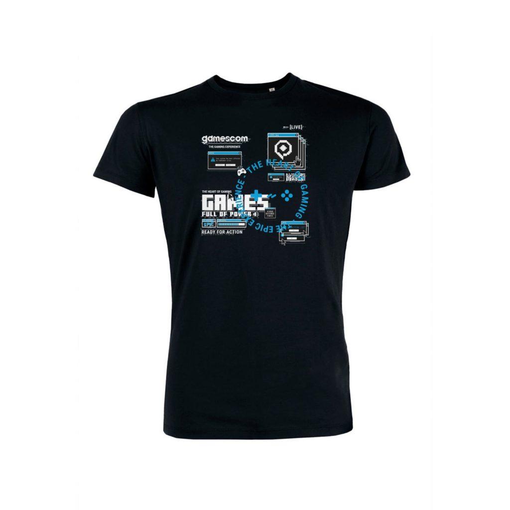 Men's T-Shirt BROWSER black
