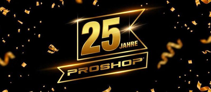 25 Jahre - Proshop