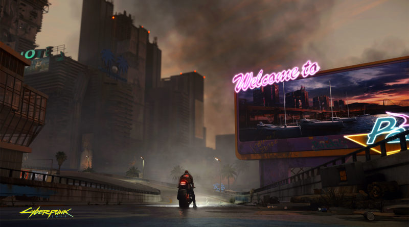Cyberpunk 2077 - Welcome to Paradise