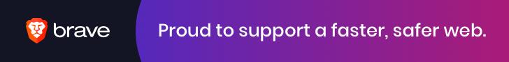 Brave Browser - Banner