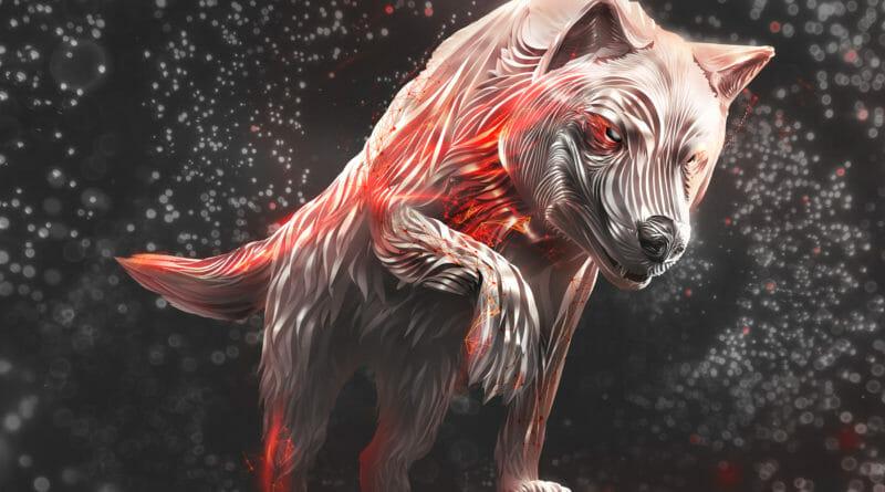 Seagate Ironwolf - Wolf Logo
