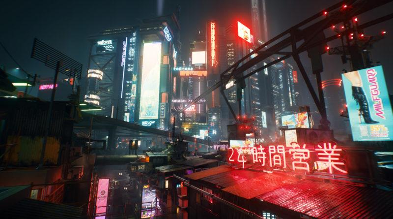 Cyberpunk 2077 - Above it all