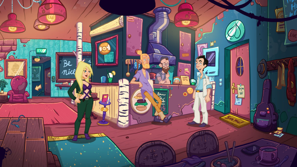 Larry Laffer auf der Pirsch - Leisure Suit Larry