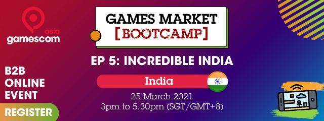 Games Market Bootcamp - gamescom asia