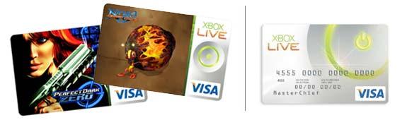 Xbox Visa Karte