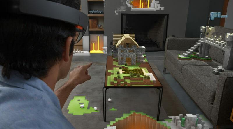 hololens 2 - minecraft demo